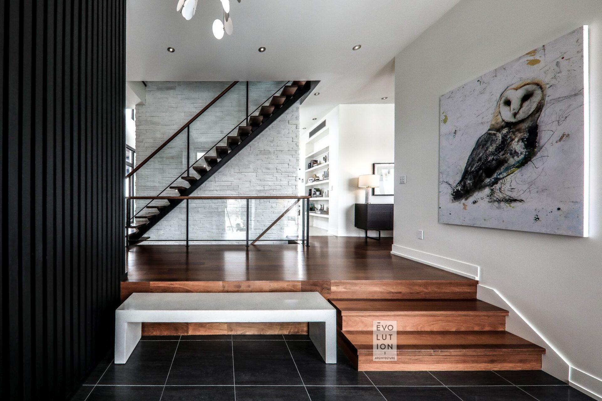 Maison s2 escalier